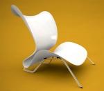 white-leaf-chair-design