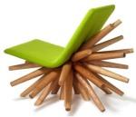 wooden-chair-design-green