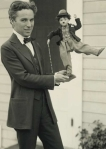 Charlie Chaplin (Чарли Чаплин) Rare photos with doll
